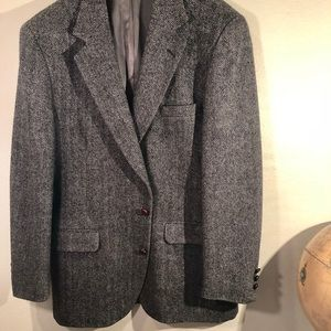 Deansgate Suits & Blazers - Deansgate Men's Sports jacket 42L Herringbone B&W